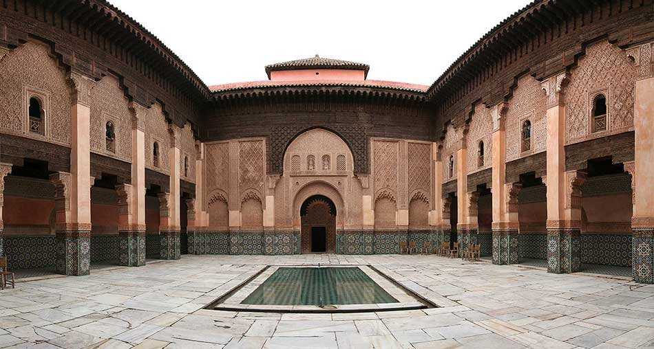 Ali Ben Youssef Madrassa In Marrakech