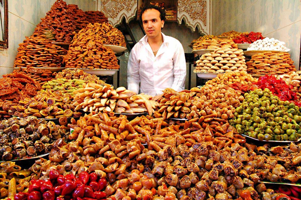 Moroccan Souks for cookies and candy