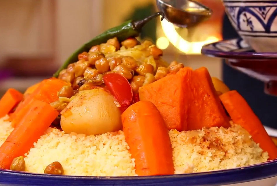 Moroccan Traditional Couscous