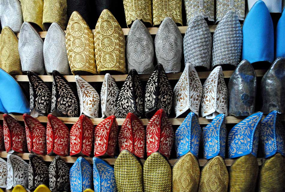 moroccan balgha : a custom shoes for djellaba for men and women with different styles