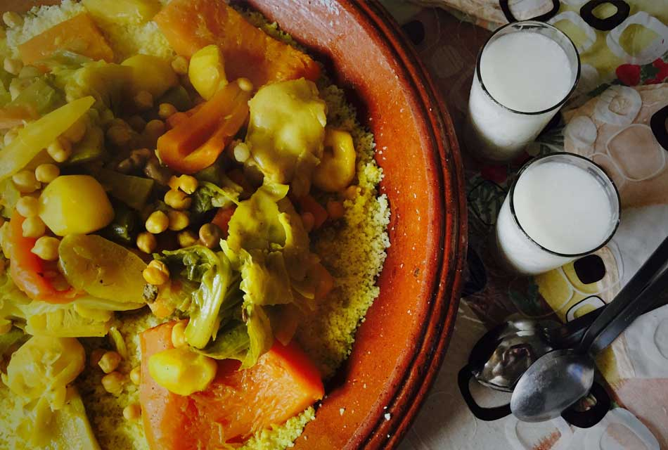 Moroccan Couscous On Friday