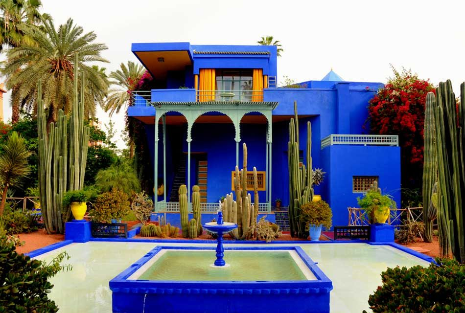 Majorelle Gardens: the blue-yellow pearl of marrakech