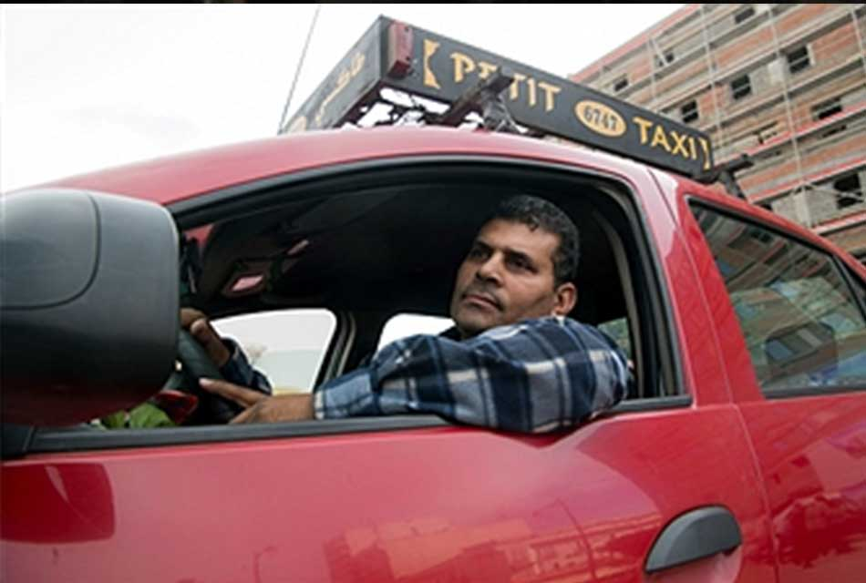 Moroccan taxi Driver
