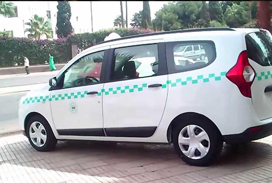 Moroccan taxi