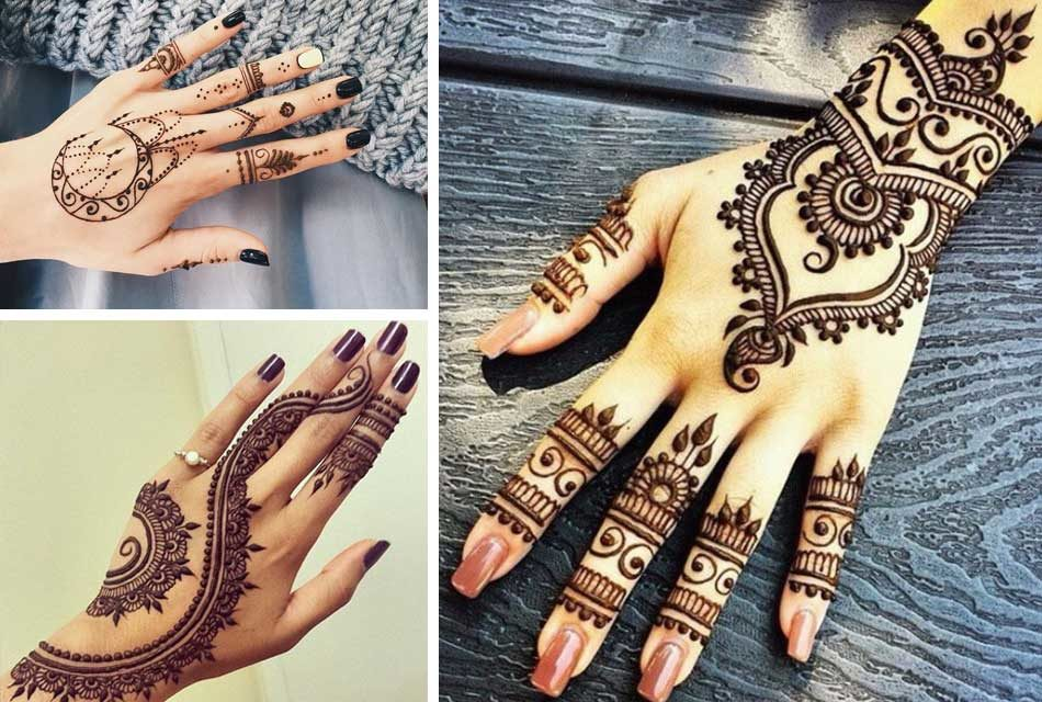 Mehndi Tattoo For Hand : Henna tattoos: the art of painting on hand and body friendly