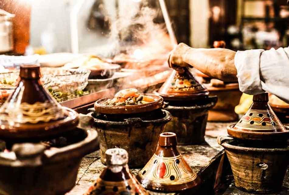 Preparation of Tajines