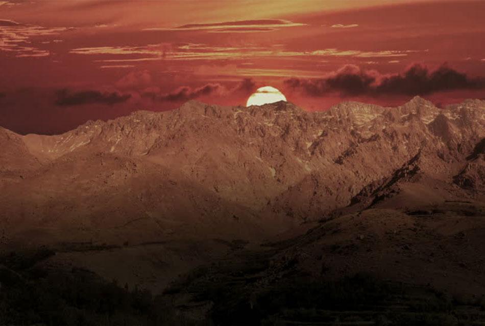 Sunrise Toubkal Mountain