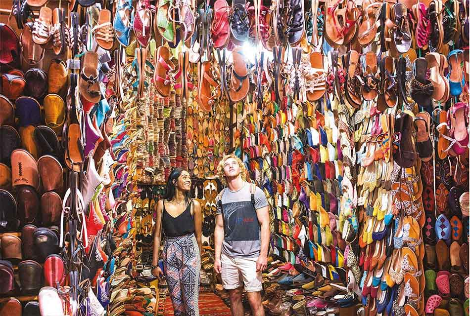 Travellers discover Morocco
