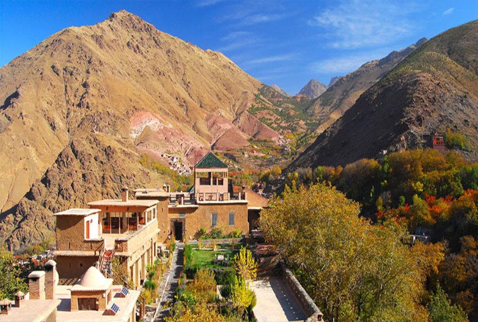 Toubkal Kasbah , adventure and luxury